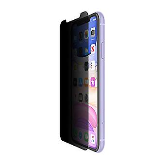 Belkin InvisiGlass Ultra Privacy Chránič obrazovky pro iPhone 11 Ochrana obrazovky soukromí, iPhone 11 Screen Protector), Černá