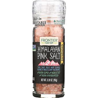 Frontier Herb Salt Grinder Hmilayan Pnk, Case of 6 X 3.4 Oz