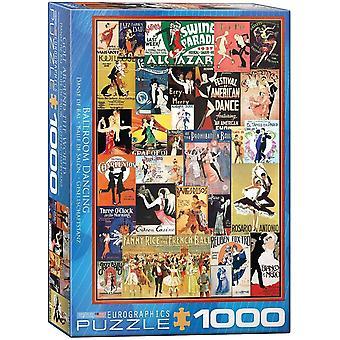 Eurographics Ballroom Dancing Jigsaw Puzzle (1000 Pièces)