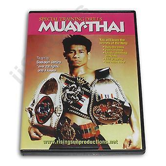 Muay Thai Ejercicios especiales de entrenamiento Dvd Janjira -Vd6060A