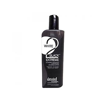 Devoted Creations White 2 Black Extreme Advanced Bronzing Tanning Lotion - 260ml