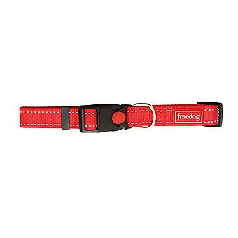 Freedog Nylon Reflect Collar Red (Dogs , Collars, Leads and Harnesses , Collars)