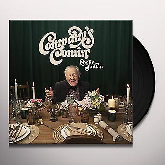 Leslie Jordan - Företagets komin' vinyl