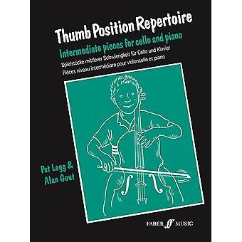 Repertório de posição do polegar (Violoncelo & Pno)