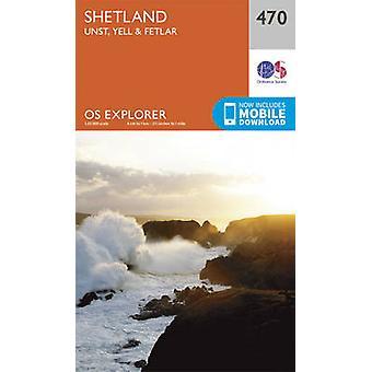 Shetland - Unst Yell and Fetlar