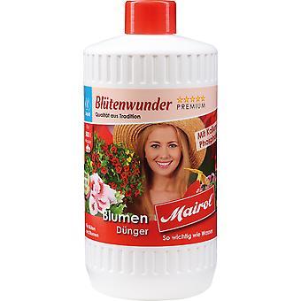 MAIROL Flower Fertilizer Liquid, 1 liter, flower miracle