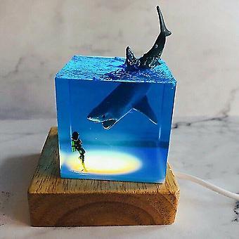 Fisch Ozean Tier Sammler leuchtendes Spielzeug kreativ für Erwachsene/Kind