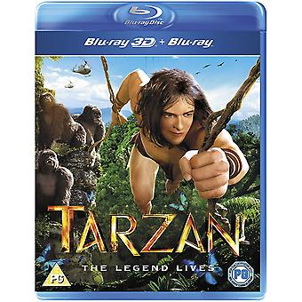 Tarzan 3D Blu-ray
