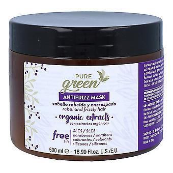 Hårmask Ren Grön Antifrizz/500 ml