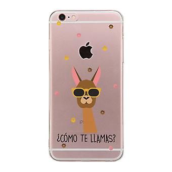Apple iPhone 6 6S Plus transparante Scratch Resistant telefoon dekking (Como Te Llamas)