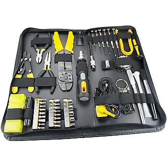Sprotek STK-8918, tool kit for computers with 58 parts, grey