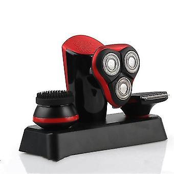 Elektrische Glatze Rasierer Rasierer 3D Bart Trimmer Mann Pflege Kit Schädel Clipper selbst Glatzenschnitt Haarschnitt