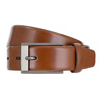 BERND GÖTZ Belt Leather Men's Belt Leather Belt Cognac 170