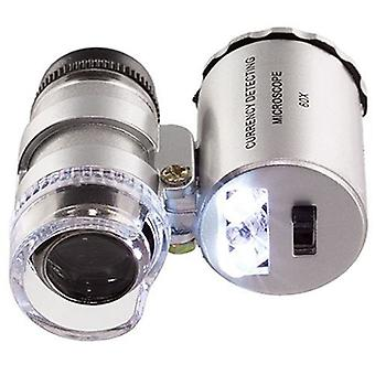 Pocket Handheld 1pc New Magnifying Coins Microscope 60x Eye Jewelry Loop Loupe Magnifier