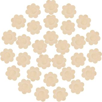 Femmes Silicone Pasties Soutien-gorge adhésif Invisible Silicone Mamelon Cover