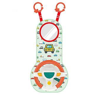 Моделируемое рулевое колесо имитировать водитель Подарок Смешные Интерактивные водительские колеса Образовательный контроллер Игрушки для детей Дети