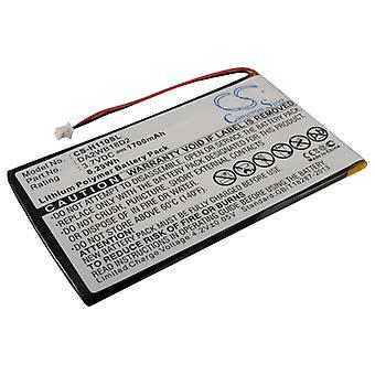 Battery for iRiver H110 H120 H140 H320 H340 20GB MP3 Player DA2WB18D2 1700mAh