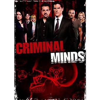 Criminal Minds - mentes criminales: importación de USA de la temporada 8 [DVD]