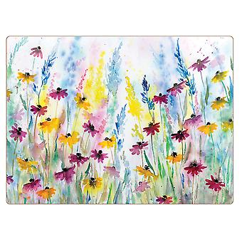 I Style Daisy Field Placemats, Set 4