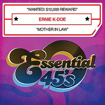 Ernie K-Doe - Wanted: $10*000 Reward/Mother in Law [CD] USA import