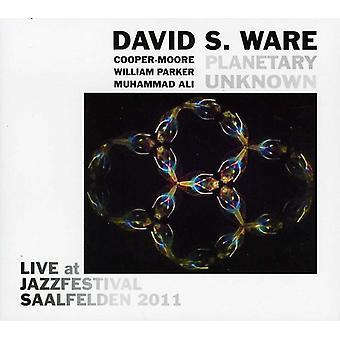 Ware, David S. & Planetary Unknown - Live at Jazzfestival Saalfelden 2011 [CD] USA import