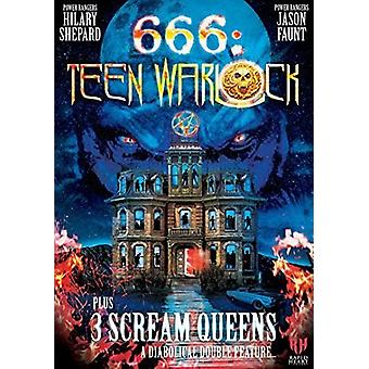 666: Teen Warlock [DVD] USA import