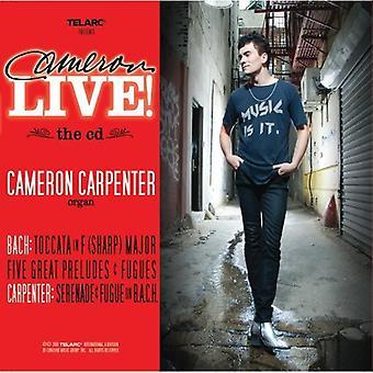 Cameron Carpenter - Cameron Live! [CD] USA import