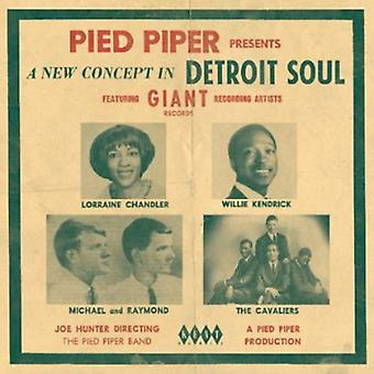 Pied Piper Presents a New Concept in Detroit Soul - Pied Piper Presents a New Concept in Detroit Soul [CD] USA import