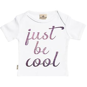 Spoilt Rotten Just Be Cool Short Sleeve Baby T-Shirt