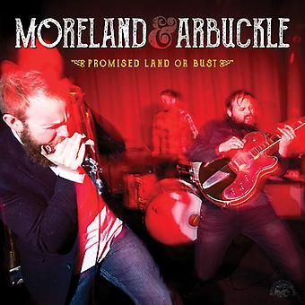 Importación de Moreland & Arbuckle - tierra prometida o busto [CD] Estados Unidos
