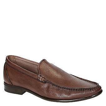 Brandy full korn skinn håndlaget loafers for menn