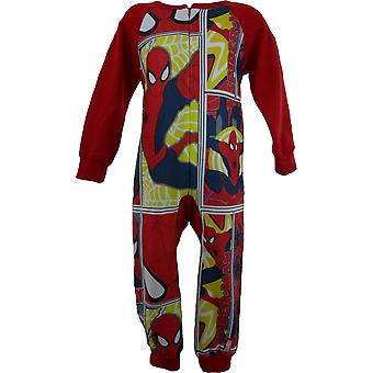 Băieți Marvel Spiderman Fleece Sleepwalker Sleepsuit