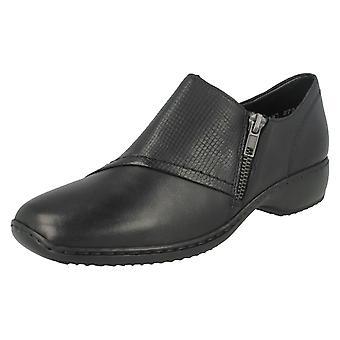 Damen Rieker Smart flache Schuhe L3867