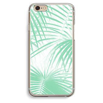 Transparente Hülle iPhone 6 6 s (Soft) - verlässt Palm