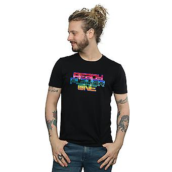 Valmis pelaaja Rainbow Logo t-paita