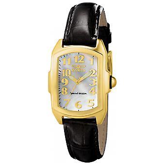 Invicta Lupah 13834 lederen horloge