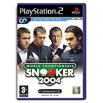 World Championship Snooker 2004 (PS2) - New Factory Sealed