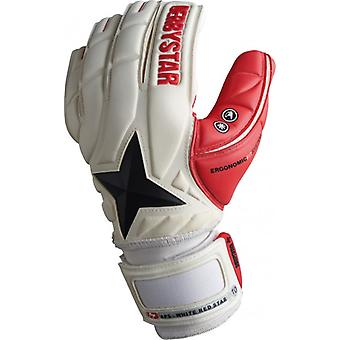 DERBYSTAR APS WHITE Red Star - Torwarthandschuh