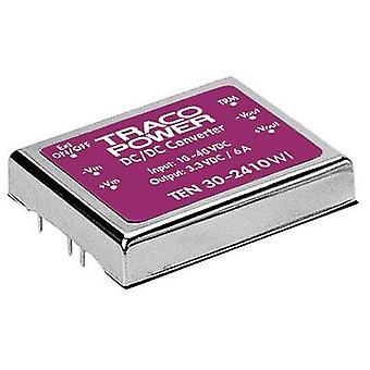 TracoPower TEN 30-2412WI DC/DC converter (print) 24 V DC 12 V DC 2.5 A 30 W No. of outputs: 1 x