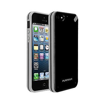 Puregear Slim shell geval voor Apple iPhone 5 (zwarte thee) - 02-001-01814