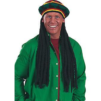 Reggae klobúk doplnky klobúk Karneval Halloween Rastafari Jamajka