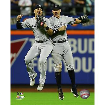 Giancarlo Stanton & Aaron Judge 2018 Action Photo Print