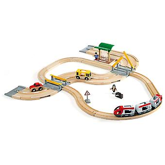 BRIO spoorweg & Road reisset