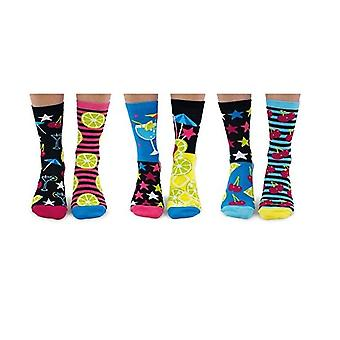 United Oddsocks Mojitoes Ladies Cocktail Socken