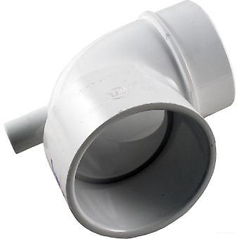 كسر المجرى المائي 642-3610V مقاس 2.5 بوصة زلة 90 درجة الكوع الفراغ المناسب