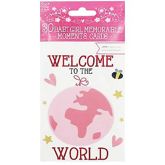 Eurowrap Memorable Moment Cards (Pack of 30)