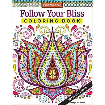 Follow Your Bliss Coloring Book by Thaneeya McArdle - 9781574219968 B