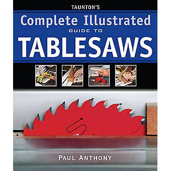 Tauntons komplett illustrerad Guide till Tablesaws av Paul Anthony - 9