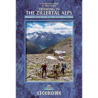Wandeltochten in de Zillertaler Alpen (2e herziene editie) door Allan Hartley