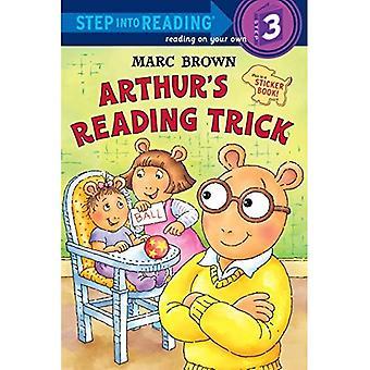 Arthur lecture du truc (étape dans la lecture - niveau 3 - qualité)